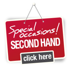 Special occasions! SECOND HAND