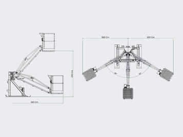 Trestle TR1K - Technical Drawings